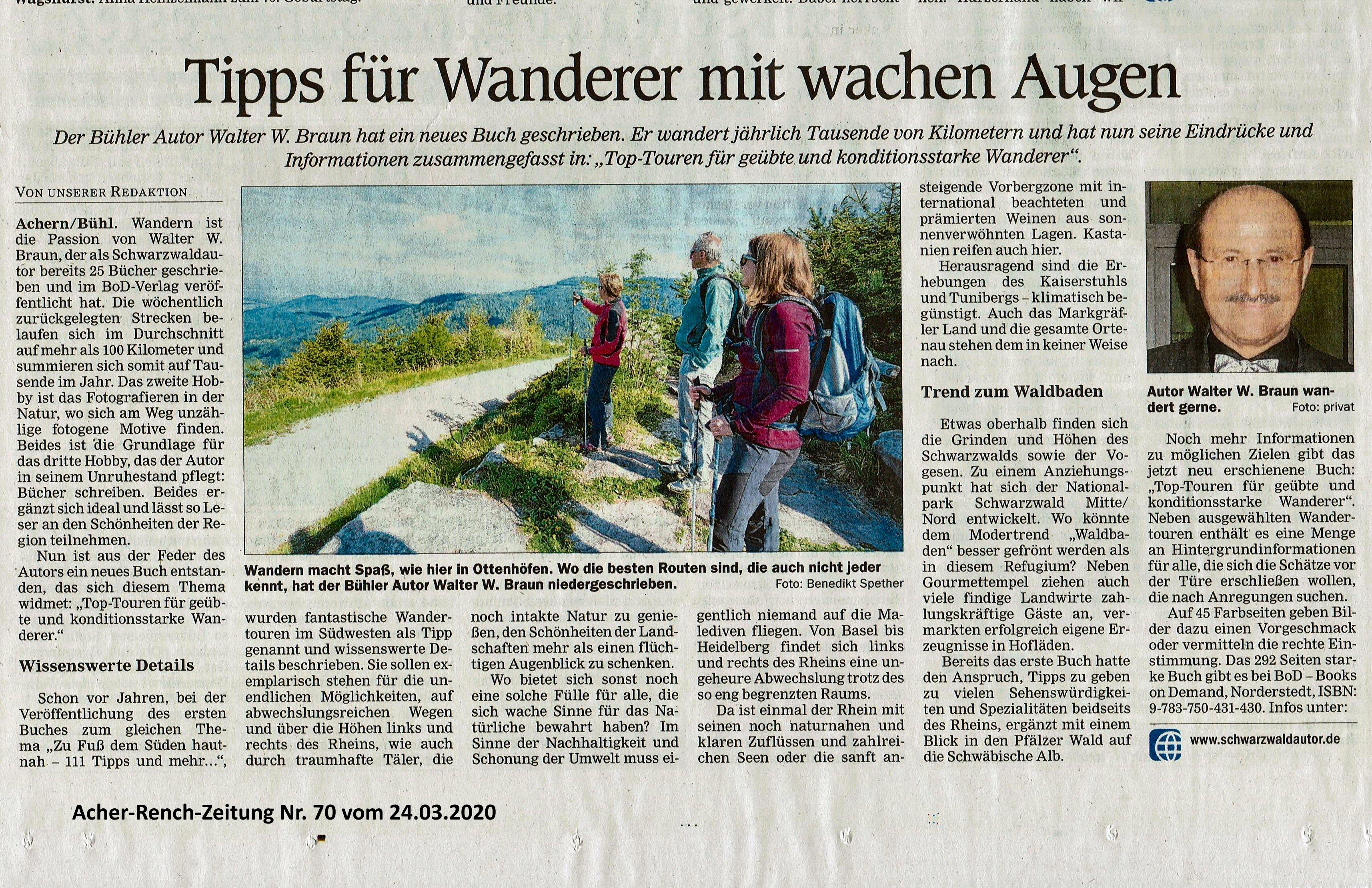 Acher Rench Zeitung Achern